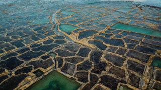 Salzpfannen von Gozo, Malta