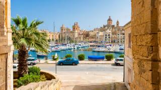 Hafen von Senglea, Malta