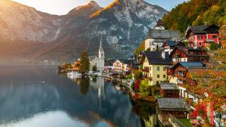 Hallstatter See, Salzkammergut, Österreich