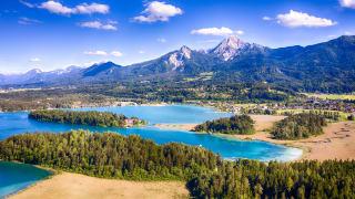 Faaker See, Kärnten, Österreich
