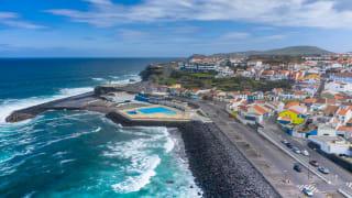 Stadt, Ribeira Grande, Azoren, Portugal