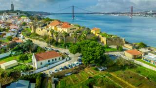 Almada, Lissabon Küste, Portugal