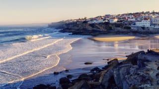 Praia das Macas, Lissabon Küste, Portugal