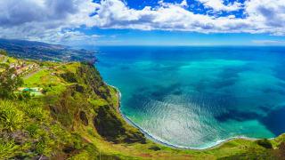 Aussichtspunkt Cabo Girao, Madeira, Portugal