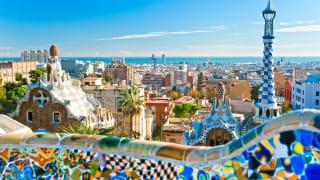 Aussicht über Barcelona, Katalonien