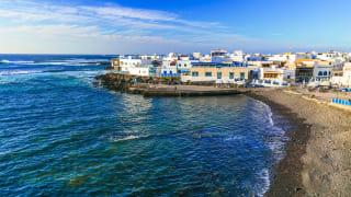 El Cotillo, Fuerteventura, Spanien