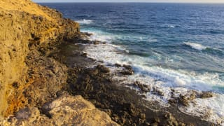 Strand Costa Antigua, Fuerteventura, Spanien