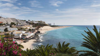 Strand in Jandia, Fuerteventura, Spanien