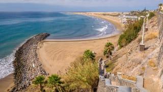 Playa del Ingles, Gran Canaria, Spanien