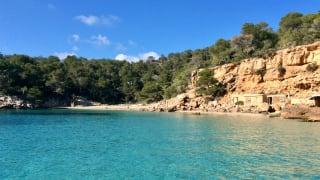 Cala Gracio, Ibiza, Spanien