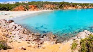 Cala Llenya, Ibiza, Spanien