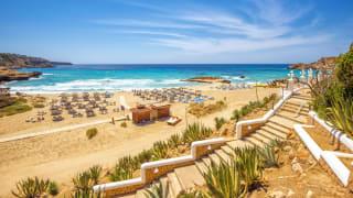 Cala Tarida, Ibiza, Spanien