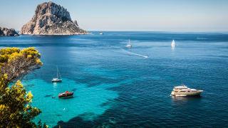 Cala d'Hort, Ibiza, Spanien