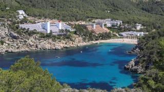 Port de Sant Miquel, Ibiza, Spanien