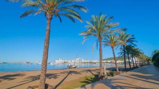 Sant Antoni de Portmany, Ibiza, Spanien