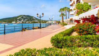 Santa Eularia, Ibiza, Spanien