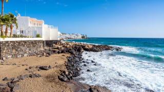 Küste, Puerto del Carmen, Lanzarote