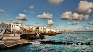 Strandpromenade, Punta Mujeres, Lanzarote