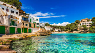 Bucht Cala Santanyi, Mallorca, Spanien