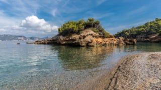 Insel am Strand, S'Illot, Mallorca