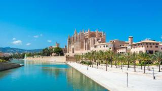 Kathedrale in Palma de Mallorca, Spanien