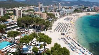 Playa de Magaluf, Mallorca, Spanien