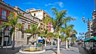 Altstadt Santa Cruz, Teneriffa, Spanien