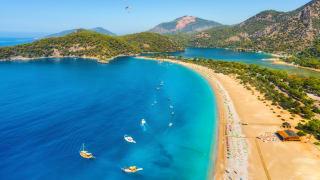 Blue Lagoon in Ölüdeniz, Türkei