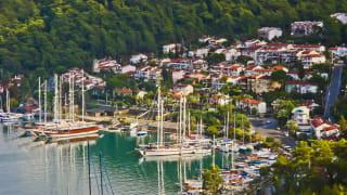 Hafen von Fethiye, Türkei