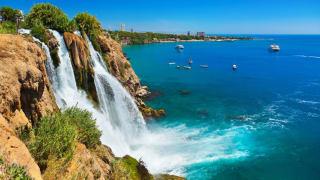 Duden Wasserfall, Antalya, Türkische Riviera