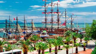 Hafen Antalya, Türkische Riviera, Türkei