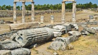 Hierapolis Ruinen, Belek, Türkische Riviera