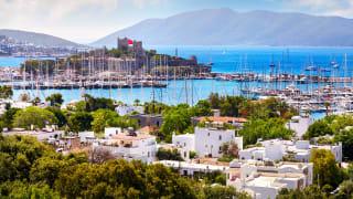Hafen, Bodrum, Türkei