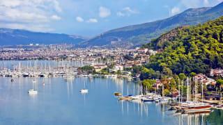 Hafen, Fethiye, Türkei