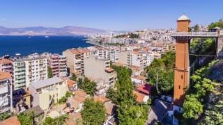 Stadt, Izmir, Türkei