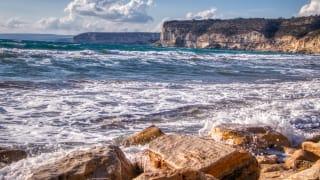 Strand Paphos, Südzypern, Zypern