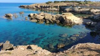 Strand Paralimni, Südzypern, Zypern