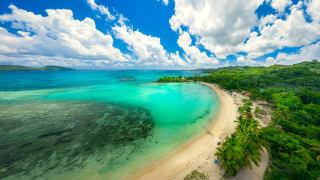 Playa Rincon, Halbinsel Samana, Dominikanische Republik