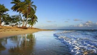 Strand, Las Terrenas, Dominikanische Republik