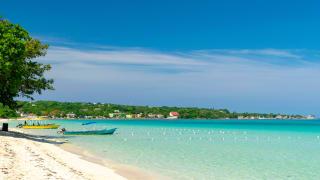 Sven Mile Beach, Negril, Jamaika