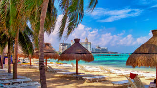 Cancun Beach, Yucatan, Mexiko
