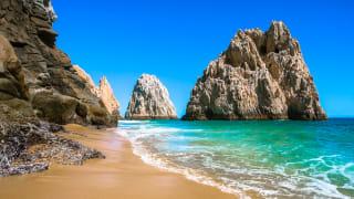 Roxy Beach in Cabo San Lucas, Baja California, Mexiko