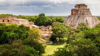 Uxmal, Maya-Stadt in Yucatan, Mexiko
