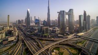 Burj Khalifa Skyline, Dubai, VAE © Dubai Touism