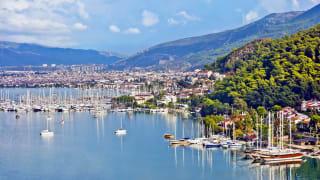 Hafen Fethiye, Türkische Ägäis