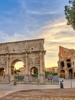 Konstantinsbogen, Rom, Italien