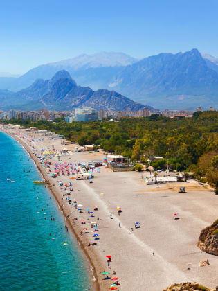 Strand, Antalya, Türkische Riviera