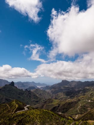 Berglandschaft. Gran Canaria © Joachim Negwer