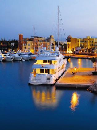 Sicherer Hafen – El Gouna hat gleich zwei schöne Marinas © FTI