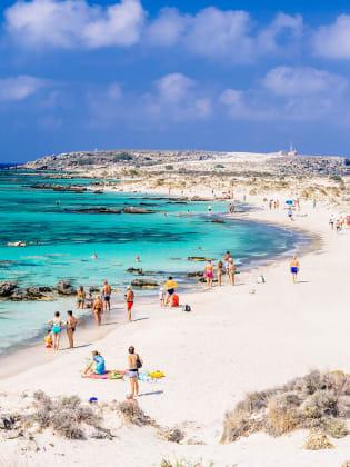 Elafonisi Beach, Kreta